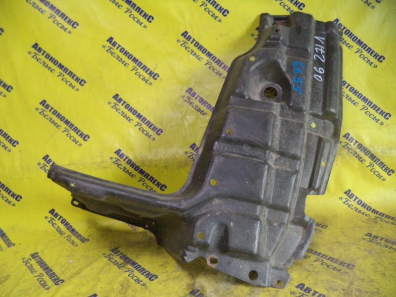 Защита двигателя Toyota Vitz SCP90 2SZFE 2005 передняя левая