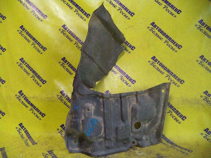 Защита двигателя Toyota Sprinter AE100 5AFE 2002 передняя левая