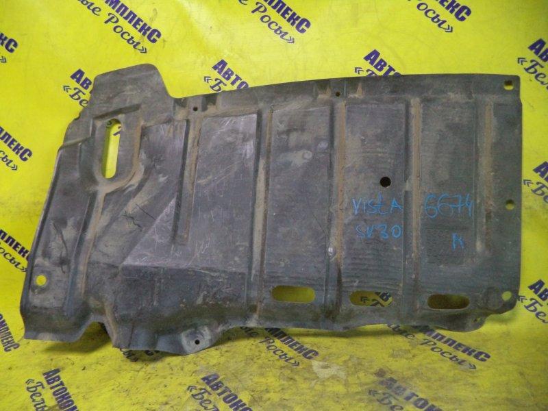 Защита двигателя Toyota Vista SV30 4SFE 1990 передняя правая