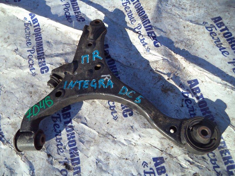 Рычаг подвески Honda Integra DC5 K20A 2001 передний правый