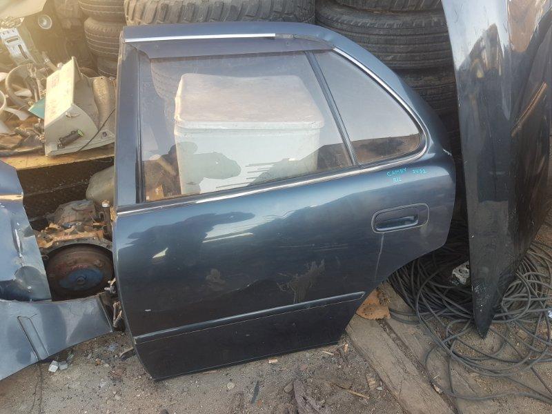 Дверь Toyota Camri SV32 3SFE 1998 задняя левая