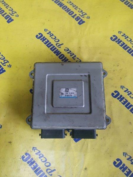 Блок управления двигателем Mazda Axela BK3P LFDE 2003 передний