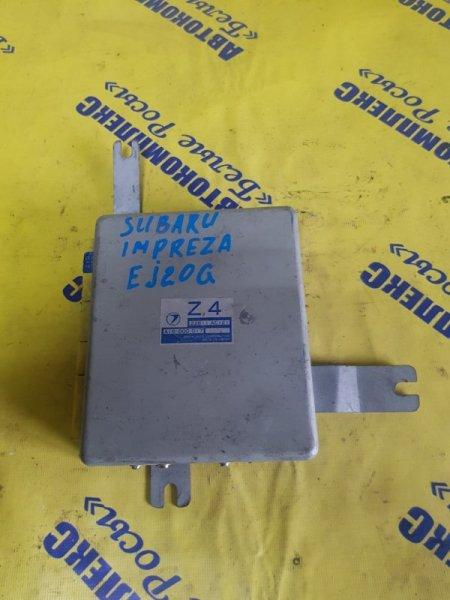 Блок управления двигателем Subaru Impreza GC8 EJ20 2000 передний