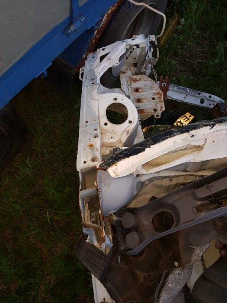 Лонжерон Toyota Platz SCP11 1SZFE 2000 передний левый