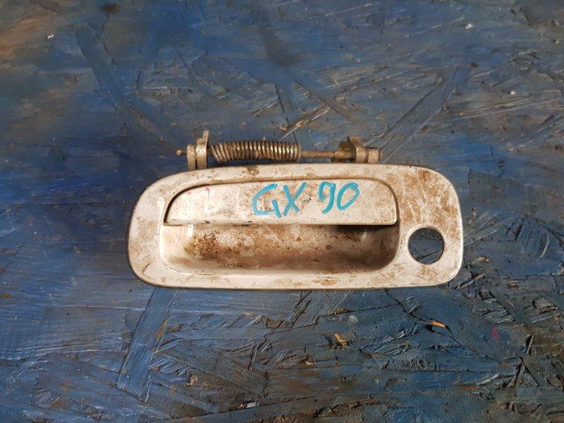 Ручка двери Toyota Mark Ii GX90 1GFE 1993 передняя левая