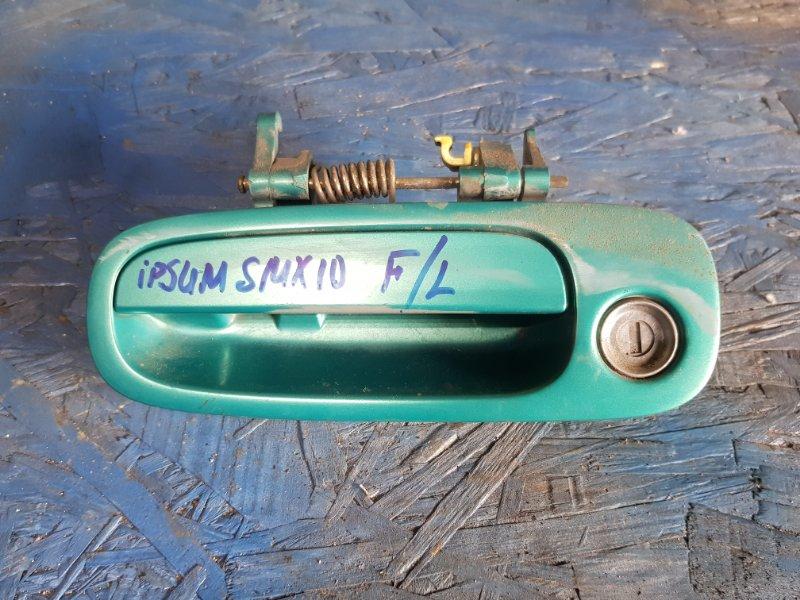 Ручка двери Toyota Ipsum SXM10 3SFE 1996 передняя левая