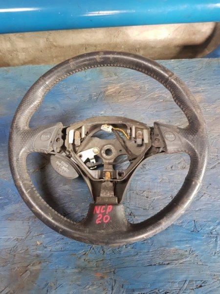 Руль Toyota Funcargo NCP20 1NZFE 2000 передний