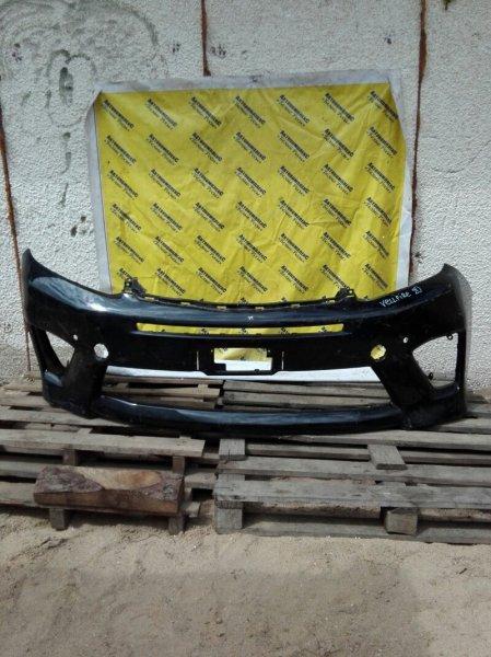 Бампер Toyota Vellfire GGH20 2GRFE 2008 передний