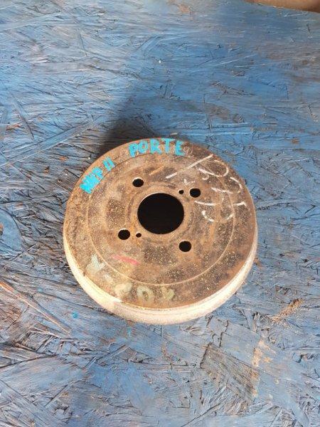 Тормозной барабан Toyota Porte NNP11 1NZFE 2004 задний левый