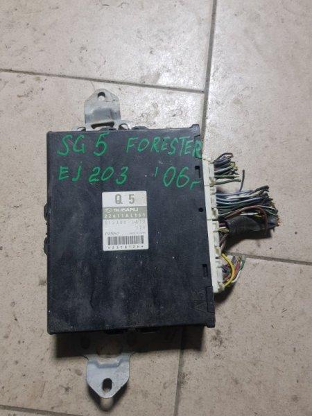 Блок управления двигателем Subaru Forester SG5 EJ203 2005