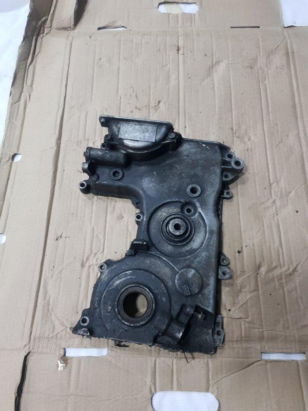 Лобовина двигателя Toyota Vitz SCP10 1SZFE 1999 передняя