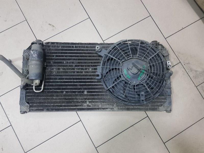 Радиатор кондиционера Toyota Corolla EE102 4EFE 1992 передний