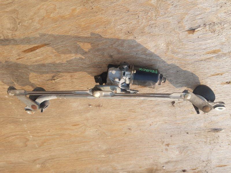 Механизм стеклоочистителя Toyota Probox NCP51 1NZFE 2002 передний