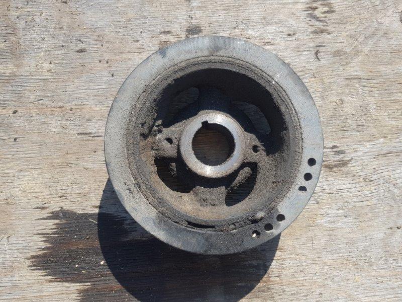 Шкив коленвала Toyota Crown GRS183 3GRFSE 2003 передний