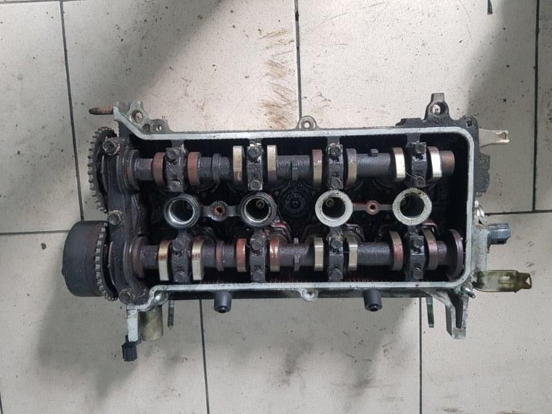 Головка блока цилиндров Toyota Funcargo NCP20 2NZFE 1999 передняя верхняя