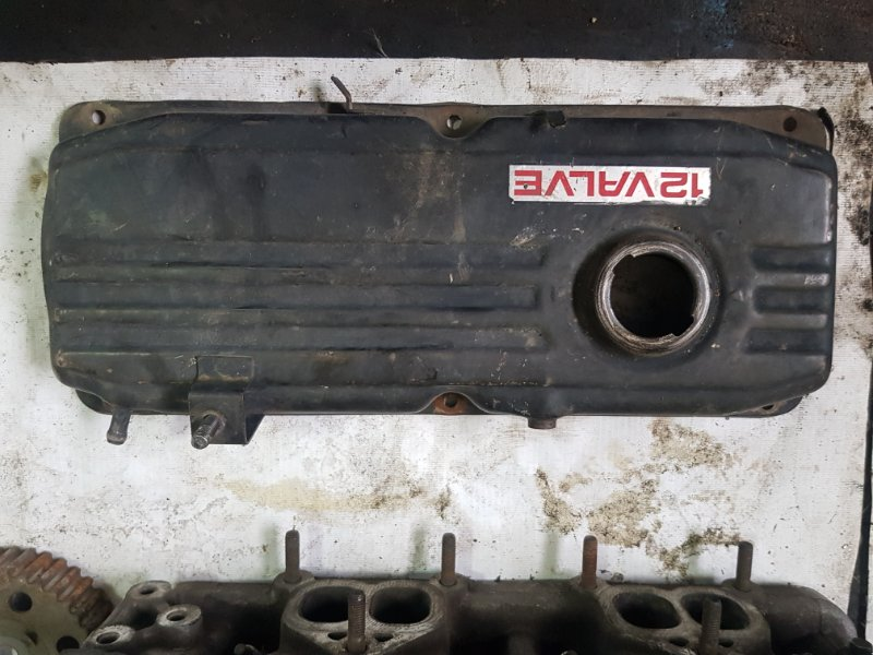 Крышка клапанов Mitsubishi Libero CB2W 4G15 1998 передняя