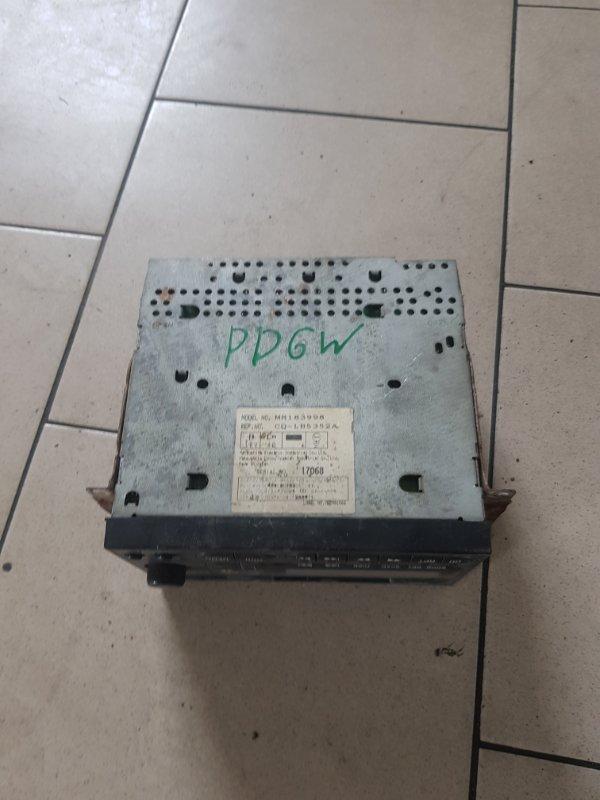 Магнитофон Mitsubishi Delica PD6W 6G72 2002 передний