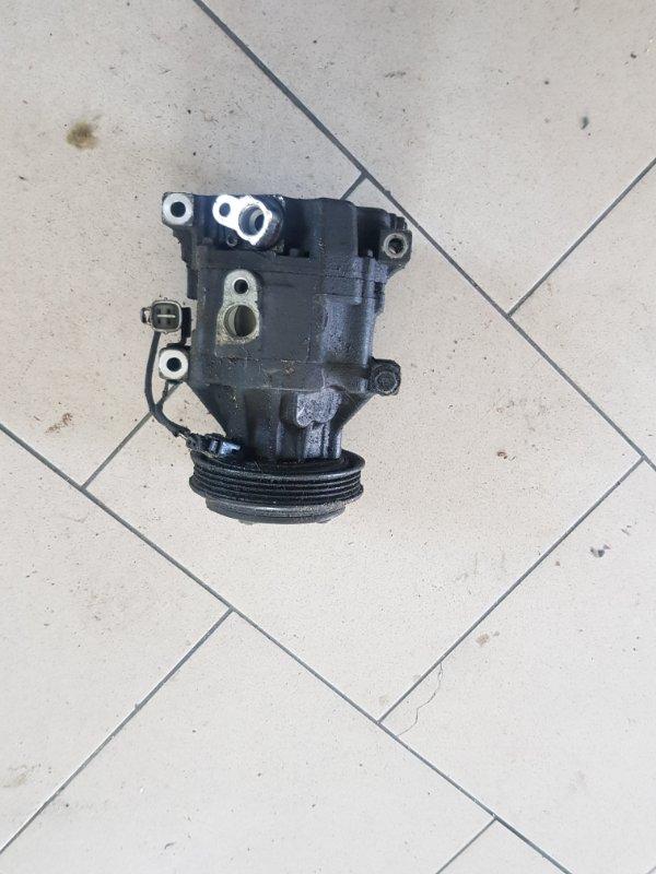 Компрессор кондиционера Toyota Funcargo NCP21 1NZFE 2000 передний