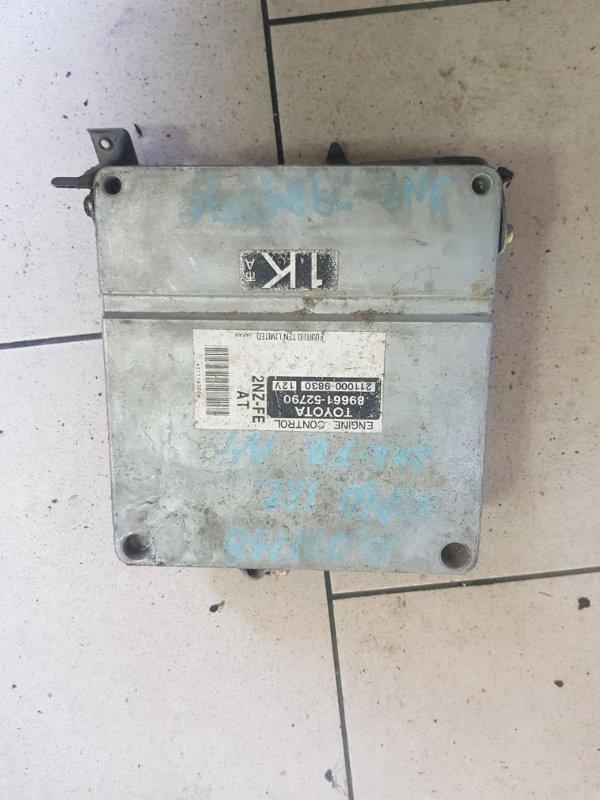 Блок управления двигателем Toyota Ist NCP60 2NZFE 2002 передний