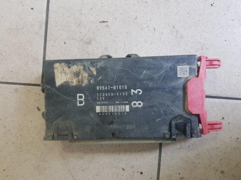 Блок управления двигателем Toyota Passo KGC30 1KR 2010 передний