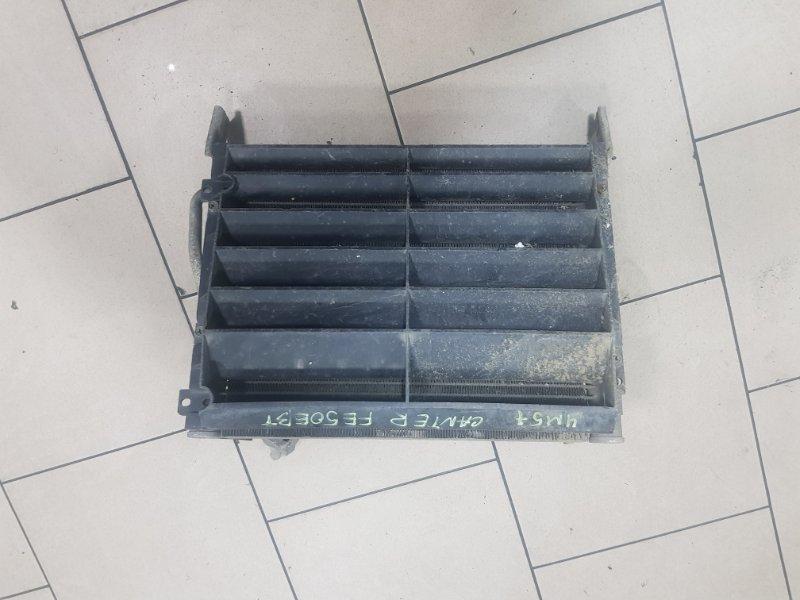 Радиатор кондиционера Mitsubishi Canter FE50EBT 4M51 1996 передний левый нижний