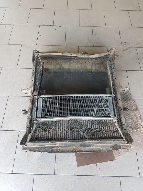 Радиатор охлаждения двигателя Маз 54323 ЯМЗ 238 1990 передний