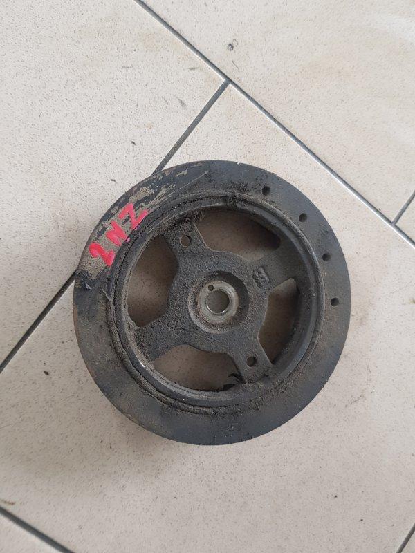 Шкив коленвала Toyota Probox NCP50 2NZFE 2002 передний нижний