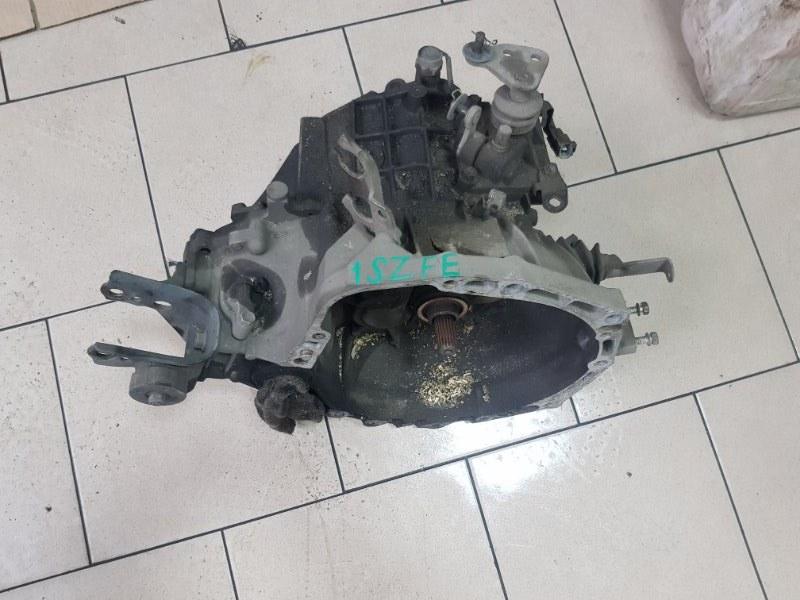 Мкпп Toyota Platz SCP11 1SZFE 2000 передняя