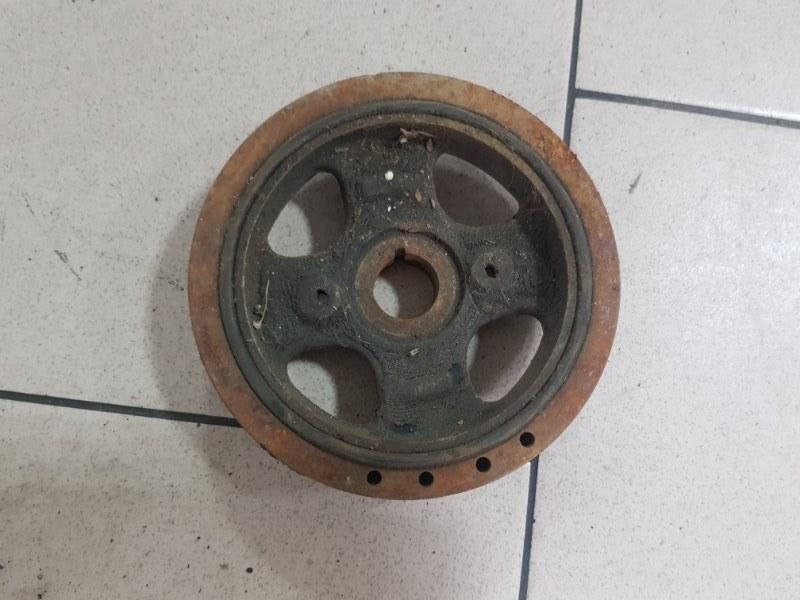 Шкив коленвала Toyota Platz SCP12 1SZFE 2000 передний