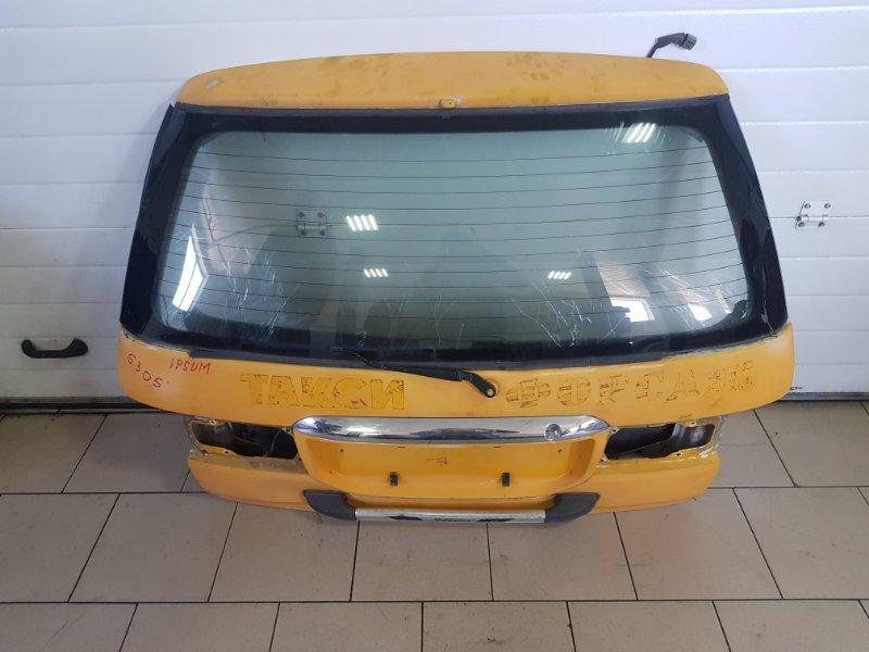 Дверь багажника Toyota Ipsum SXM10 3SFE 1997 задняя