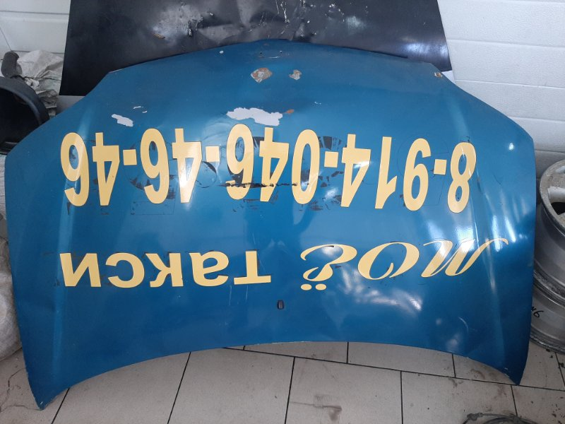 Капот Toyota Platz SCP12 1SZFE 2000 передний