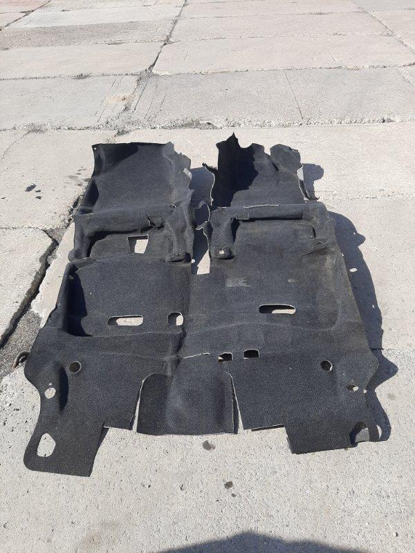 Ковер пола Toyota Vitz KSP90 1KRFE 2005 нижний