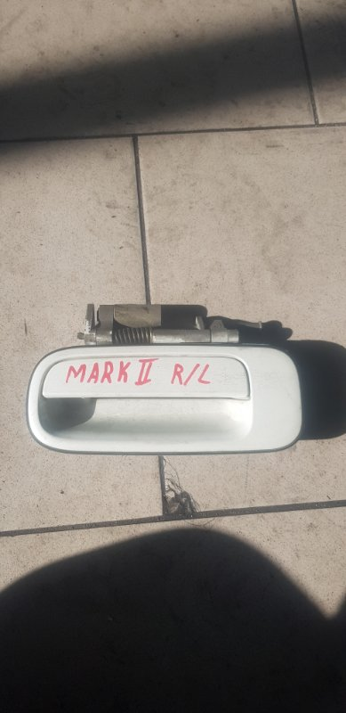 Ручка двери внешняя Toyota Mark Ii GX90 1GFE 1994 задняя левая