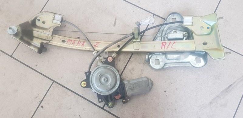 Стеклоподъемник Toyota Mark Ii GX90 1GFE 1994 задний левый