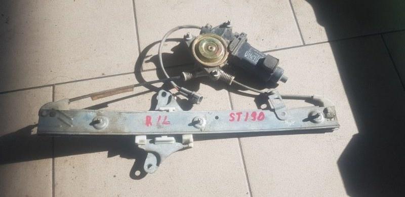 Стеклоподъемник Toyota Carina ST190 4SFE 1992 задний левый