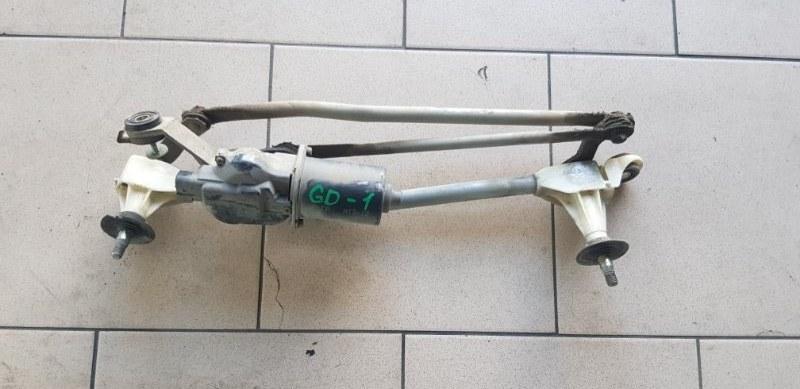 Механизм стеклоочистителя Honda Fit GD1 L13A 2001 передний