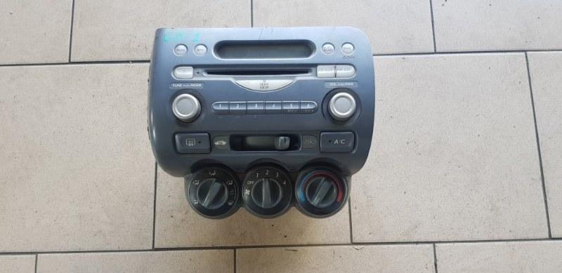 Блок управления климат-контролем Honda Fit GD1 L13A 2001 передний