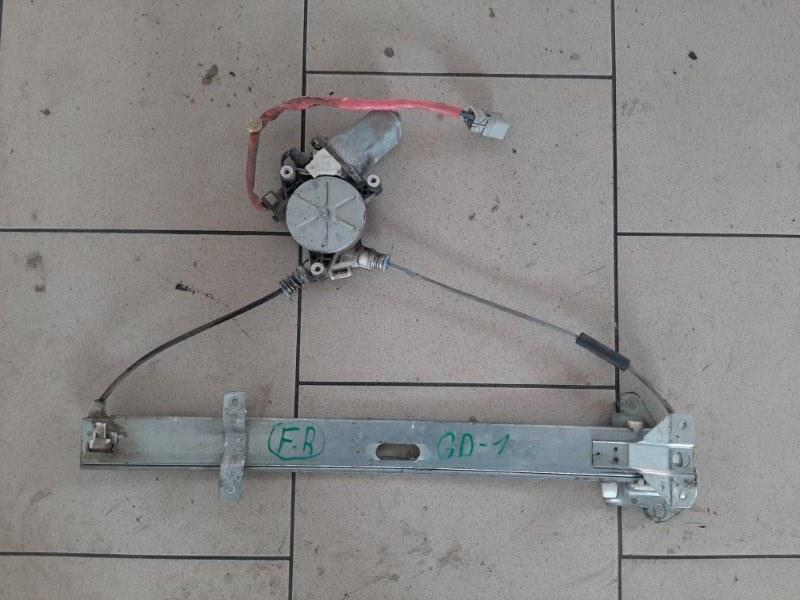 Стеклоподъемник Honda Fit GD1 L13A 2001 передний правый