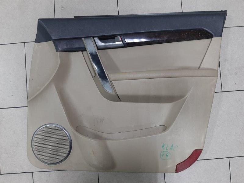 Обшивка двери Daewoo Winstorm KLACA26RD7B012026 Z20S1 2007 передняя правая