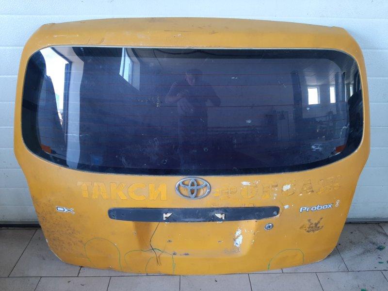 Дверь багажника Toyota Probox NCP50 2NZFE 2002 задняя