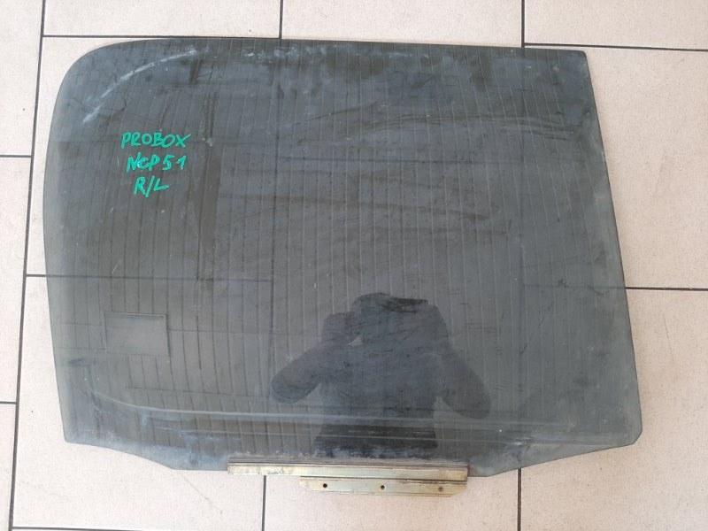 Стекло Toyota Probox NCP50 2NZFE 2002 заднее левое