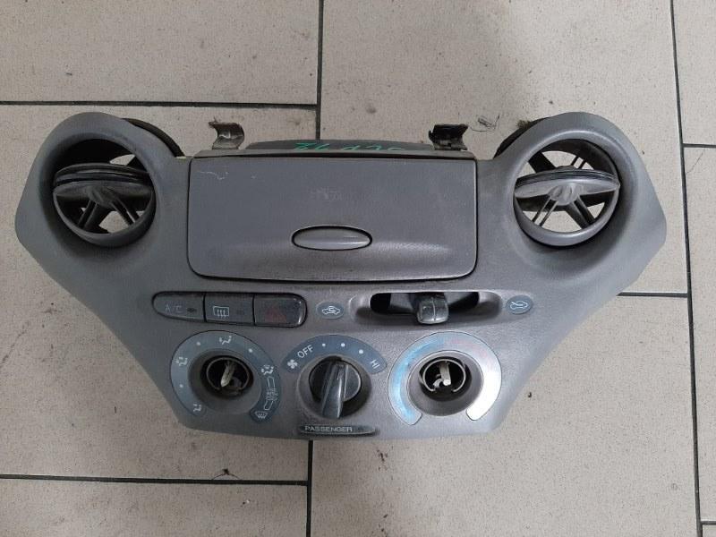 Блок управления климат-контролем Toyota Platz SCP12 1SZFE 2000 передний