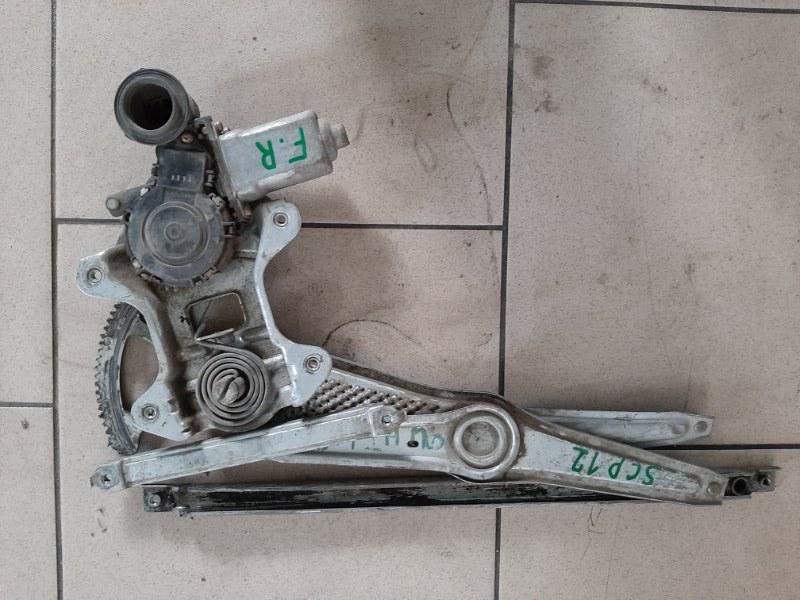 Стеклоподъемник Toyota Platz SCP12 1SZFE 2000 передний правый