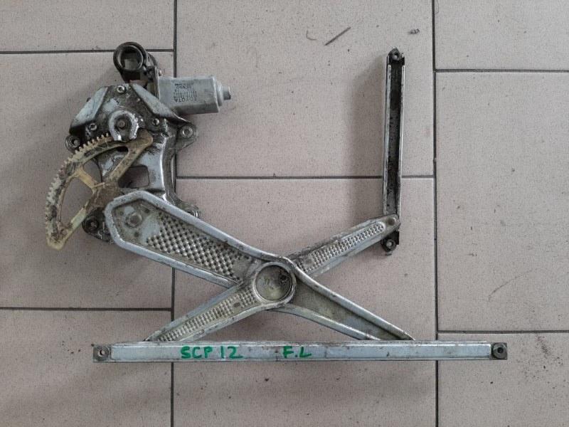 Стеклоподъемник Toyota Vitz SCP10 1SZFE 2000 передний левый