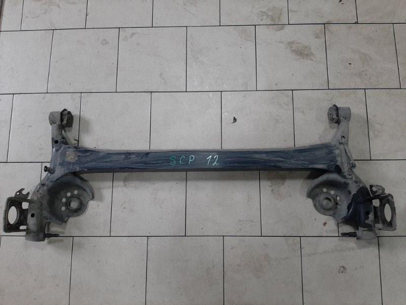 Балка подвески Toyota Platz SCP11 1SZFE 2000 задняя
