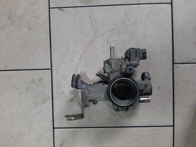 Дроссельная заслонка Toyota Platz SCP11 1SZFE 2000 передняя