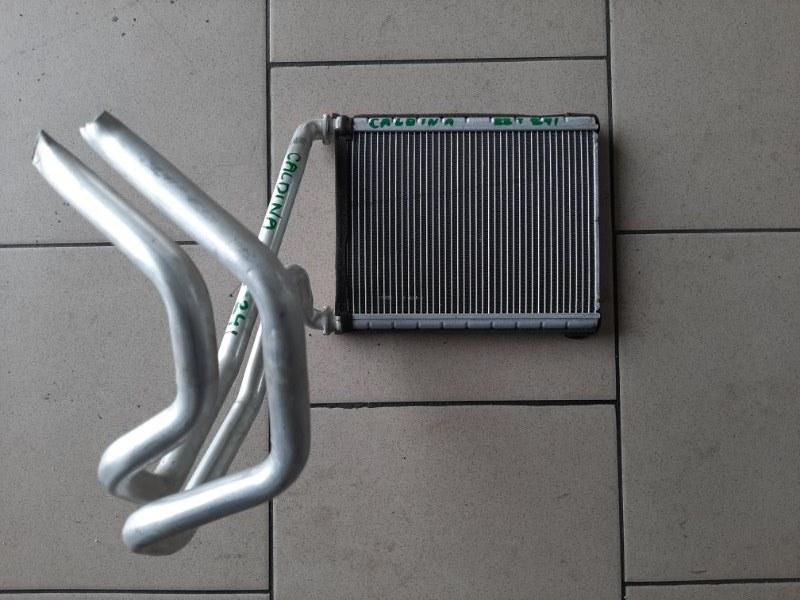 Радиатор печки Toyota Caldina ZZT241 1ZZFE 2002 передний
