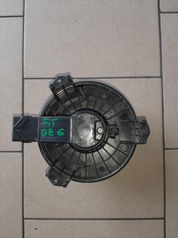 Мотор печки Honda Fit GE6 L13A 2008 передний