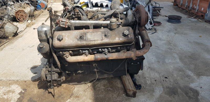 Двигатель Маз 54323 ЯМЗ 238 1990 передний