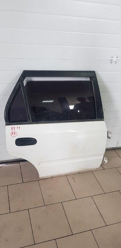 Дверь Honda Partner EY7 D15B 1999 задняя правая
